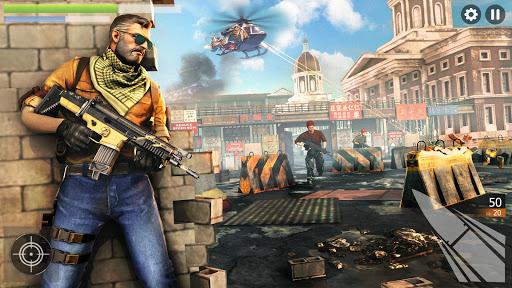 FPS Commando Strike 3D: New Games 2021: Fun Games android2mod screenshots 2