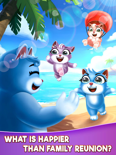 Cat Pop Island: Bubble Shooter Adventure 8.5 screenshots 23