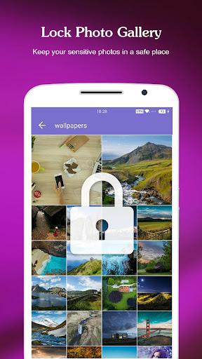 AppLock - Fingerprint & Password, Gallery Locker apktram screenshots 2