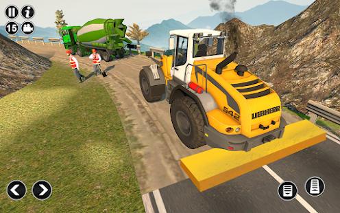 Road Construction Simulator - Road Builder Games  Screenshots 4