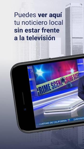 Screenshot 2 de Univision 34 Los Angeles para android