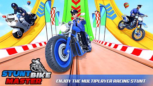 Police Bike Stunt Games: Mega Ramp Stunts Game 1.1.0 screenshots 4