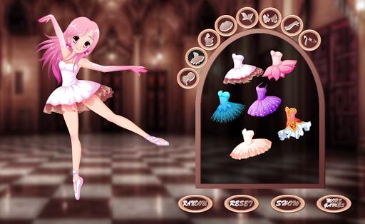 Pretty girl Ballerina dress up - girls games  screenshots 1