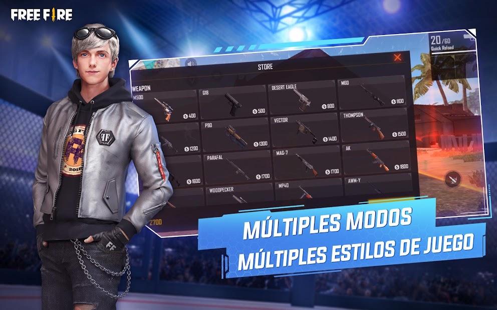 Captura de Pantalla 13 de Garena Free Fire: World Series para android