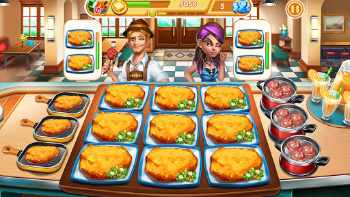 Cooking City: frenzy chef restaurant cooking games  screenshots 2