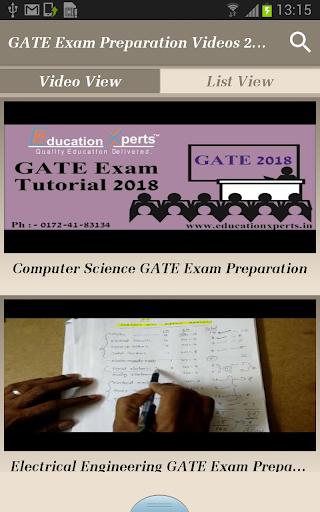 GATE Exam Preparation Videos 2018 - All Subjects screenshots 2