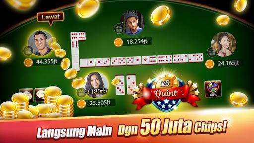 Domino : LUXY Domino & Poker - Gaple QiuQiu Remi 5.2.1.0 screenshots 1