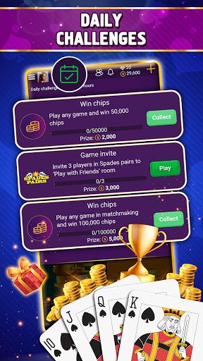 VIP Spades - Online Card Game screenshots 5