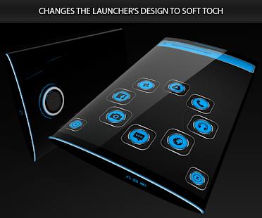Soft Touch Blue Theme 13.0.5 Screenshots 4