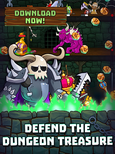 Idle Dungeon Heroes apkpoly screenshots 6