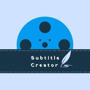 Subtitle creator 1.7.0 by vikas acharya logo