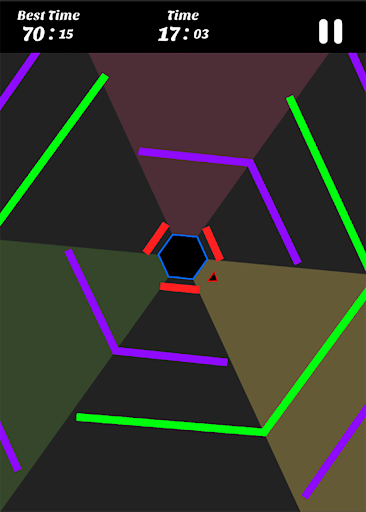 Hexagon - super hexagon, polygon 1.12 screenshots 7