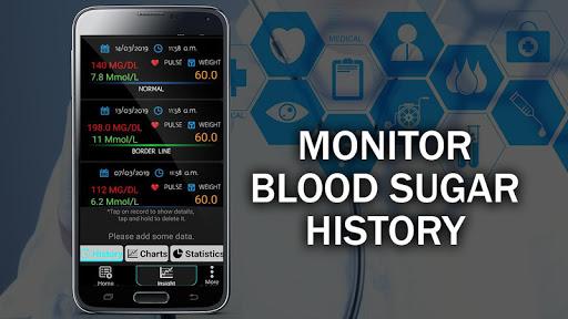 Blood Sugar Test Checker : Glucose Convert Tracker  Screenshots 2