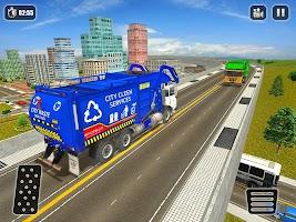 Garbage Truck Driving Simulator 2020