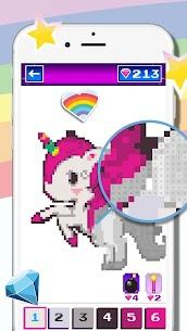 Unicorn Pixel  Color For Pc (Windows 7, 8, 10, Mac) – Free Download 1