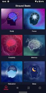 Binaural Beats - Study Music, Brain Waves 1.0.11 (Mod) (Sap)
