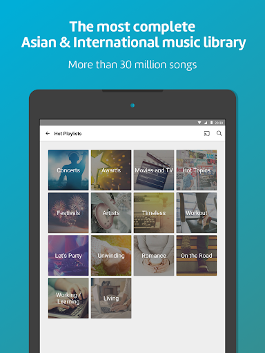 KKBOX - Music and podcasts, anytime, anywhere! screenshots 8