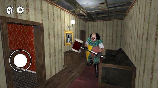 Horror Clown - Scary Escape Game Screenshot