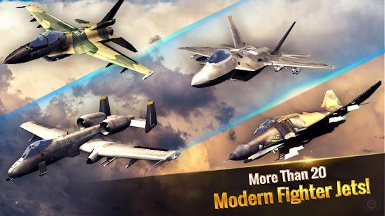 Ace Fighter: Modern Air Combat Jet Warplanes Mod Apk