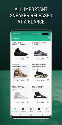 Grailify - Sneaker Release Calendar  Screenshots 5