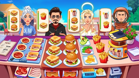 Cooking Dream: Crazy Chef Restaurant Cooking Games 3