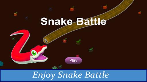Snake Slither Battle Fun Addicting Arcade Battle  screenshots 5