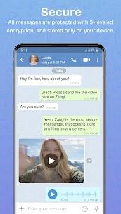 Zangi Private Messenger 1