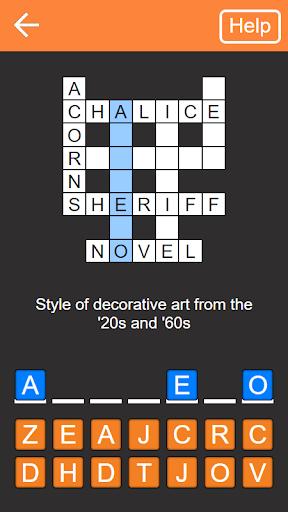 Quick Crosswords (English) 1.5.3 screenshots 1