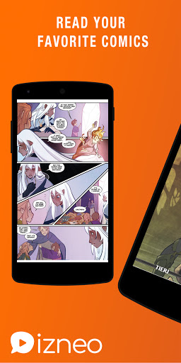 izneo - Read Comics, Manga, Webtoon android2mod screenshots 1