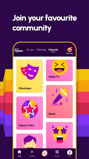 Roposo: Indian Short Video App. Viral Funny Videos  Screenshots 3