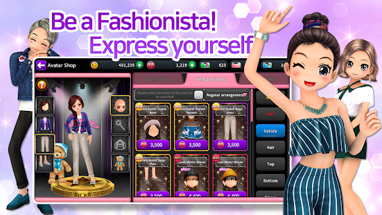 Audition M - K-pop, Fashion, Dance and Music Game Screenshot