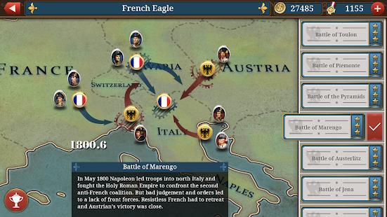 European War 6: 1804 - Napoleon Strategy Game 1.2.28 Screenshots 21