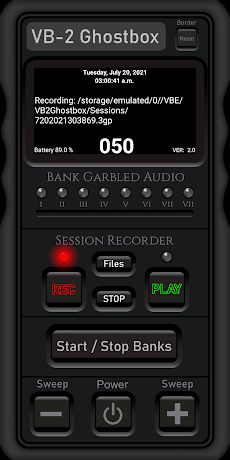 VB-2 GhostBox with Session Recorderのおすすめ画像4