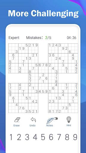 Sudoku Joy - 2021 Free Classic Sudoku Puzzle Game 3.6701 screenshots 4
