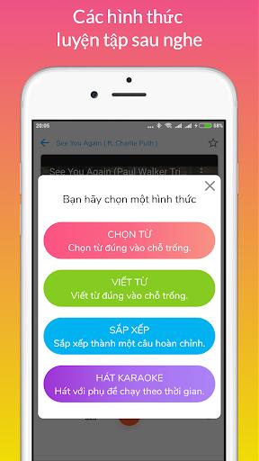 Learn English through Music modavailable screenshots 5