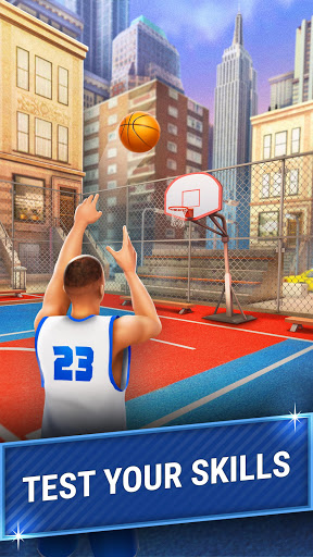 Shooting Hoops - 3 Point Basketball Games 4.5 screenshots 4