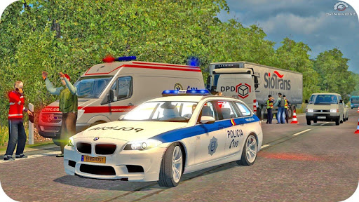 Spooky Stunt Crazy Police Parking 2020 0.1 screenshots 20