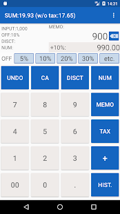 Shopping Calculator with Tax for Grocery