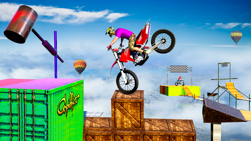 Stunt Bike 3D Race - Tricky Bike Master 1.4 screenshots 13
