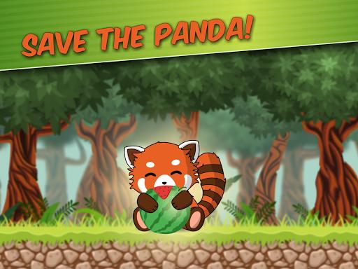 Red Panda: Casual Slingshot & Animal Logic Game  screenshots 15