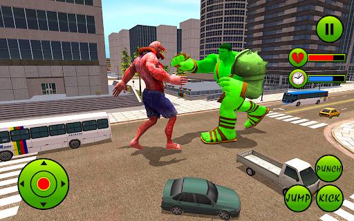 Incredible Monster Hero City Battle New Games 2021  screenshots 18