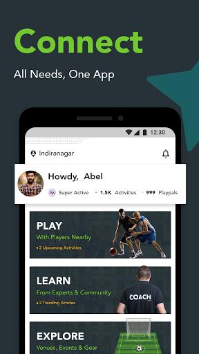 Playo screenshot 1