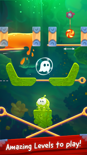 Om Nom Pin Puzzle android2mod screenshots 18
