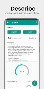 Progress -  Projects & Tasks