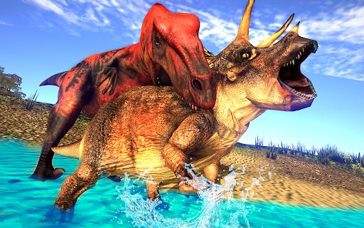 Real Dinosaur Simulator Games u2013 Dino Attack 3D 3.1 screenshots 8