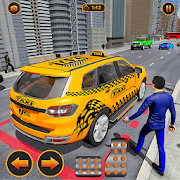 Crazy Taxi Driving Games: Modern Taxi 2020