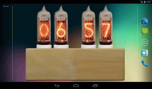 Nixie Tube Clock Widget (LITE) For PC Windows (7, 8, 10, 10X) & Mac Computer Image Number- 12