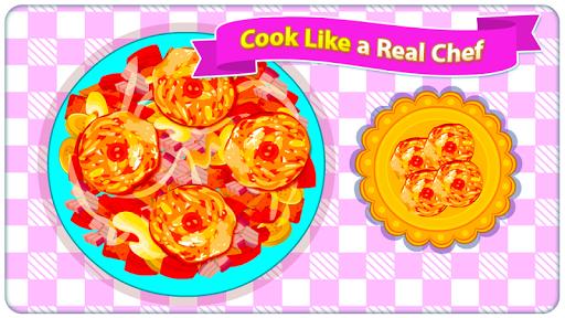 Fried Veg Chicken Salad - Cooking Game  screenshots 7