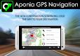 screenshot of GPS Navigation & Map by Aponia