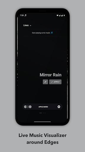 Muviz Edge - Music Visualizer, AOD Edge Lighting screen 1